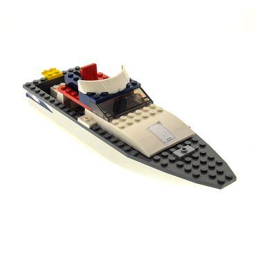 1 x Lego System für Set Modell 4642 Fishing Boat Fischerboot weiss grau incomplete unvollständig