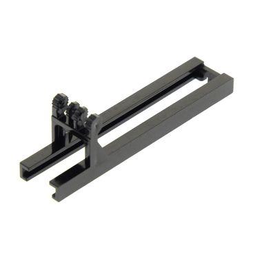 1 x Lego System Gabelstapler Arm schwarz Bau Lager Fahrzeug 4512 7898 7733 4518b