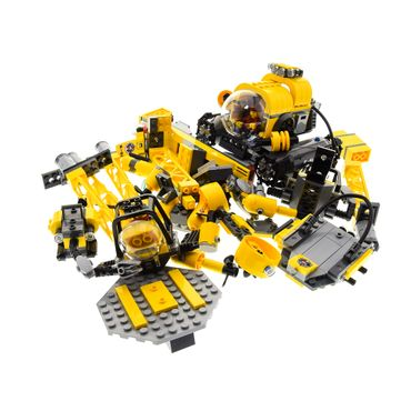 1 x Lego System Set für Modell 60096 Deep Sea Operation Base Tiefsee Basis 2 Figuren Gelb incomplete unvollständig