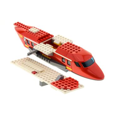 1 x Lego brick 4209 Set Model Fire Plane ( model incomplete )