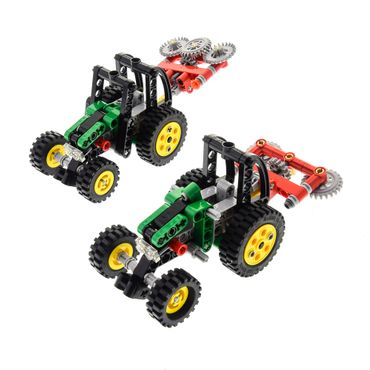 1 x Lego brick 8281 2 Mini Tractor ( model incomplete )