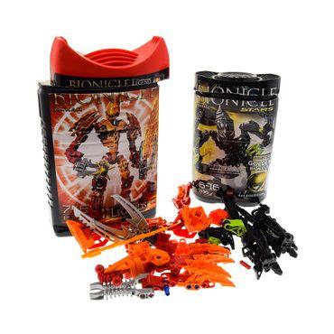 1 x Lego brick Bionicle 7136 Stars Skrall 8985 Glatorian Legends Ackar ( model incomplete )