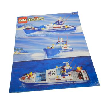 1 x Lego brick Instructions C26 Sea Cutter 4022