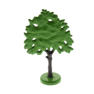 1 x Lego brick Green Plant Tree Flat Oak painted with hollow base Set 842 345 FTOakH