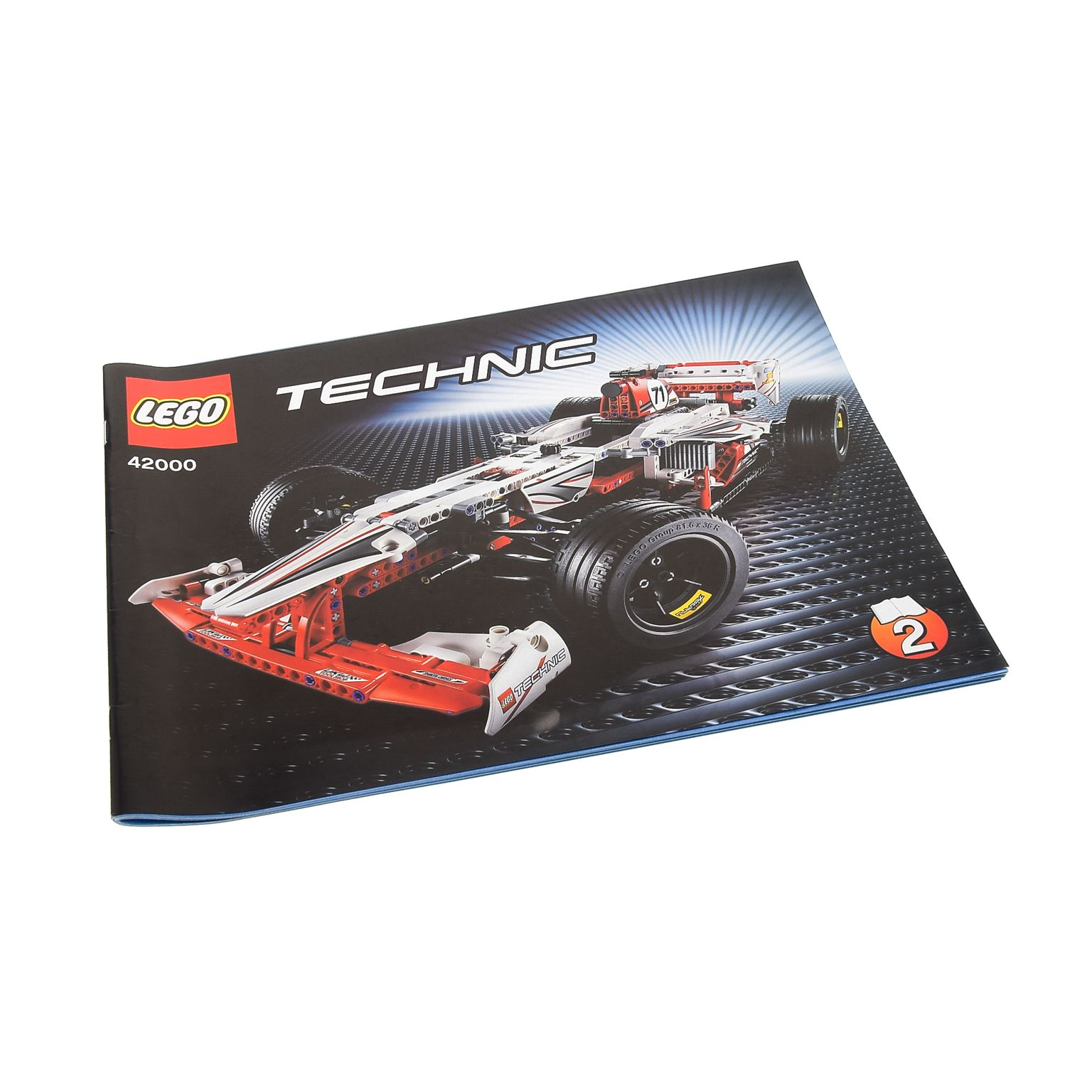 1 X Lego Brick Technic Instructions Model Grand Prix Racer Booklet 2