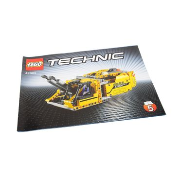 1 x Lego brick Technic Instructions Model Mobile Crane Mk II Booklet 5 42009