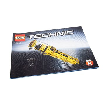 1 x Lego brick Technic Instructions Model Mobile Crane Mk II Booklet 6 42009