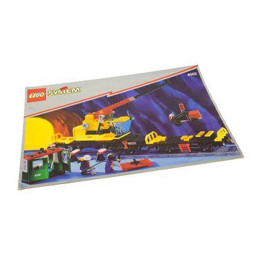 1 x Lego System Bauanleitung A4 Cargo Crane Eisenbahn 4552
