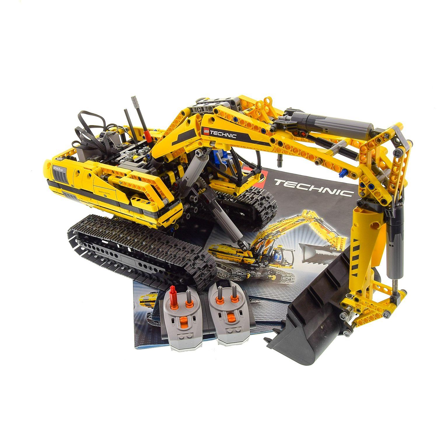 1 X Lego Technic Teile Set Modell Construction 8043 Raupen Bagger