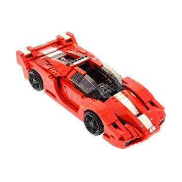 1 x Lego System Set Modell Racers 8156 Ferrari FXX 1:17 rot incomplete unvollständig