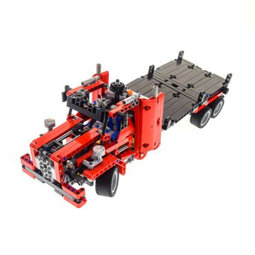 1 x Lego brick 8109 Flatbed Truck ( model incomplete )