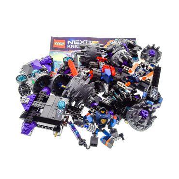 1 x Lego System Teile für Set Modell Nexo Knights 70352 The Heligoyle mit Bauanleitung Buch incomplete unvollständig