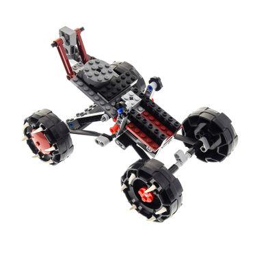 1 x Lego System Set Modell Legends of Chima 70004 Wakz' Pack Tracker Wolf grau Auto incomplete unvollständig