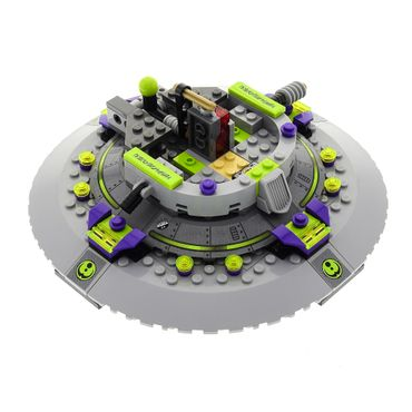 1 x Lego System Modell Set 7052 Space Alien Conquest UFO Abduction Raumschiff grau unvollständig