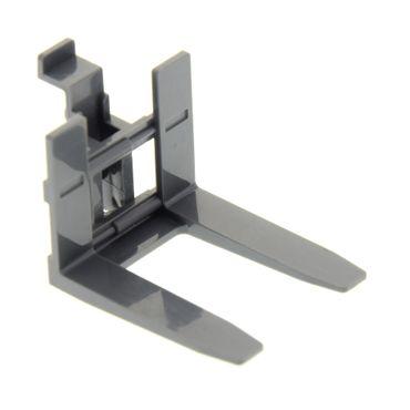 1 x Lego System Gabelstapler Arm neu-dunkel grau breit Zug LKW Truck Auto Set 7898 7733 45707