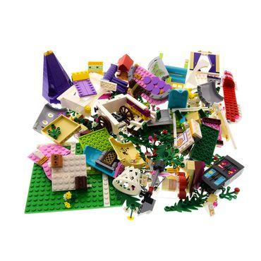 1 x Lego System Teile für Set Modell 41054 Friends und Rapunzel's Kreativer Turm grau weiss Incomplete unvollständig