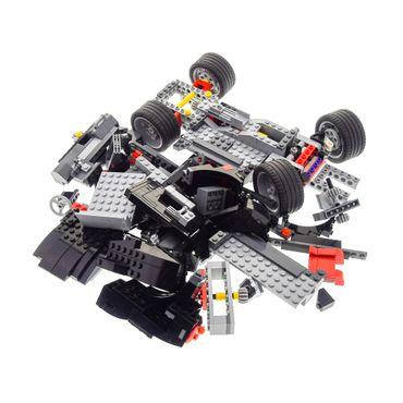 1 x Lego System Set Modell 4896 Roaring Roadsters (3in1) Auto Sportwagen schwarz incomplete unvollständig