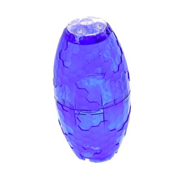 1 x Lego brick Alien Pod Complete Assembly 2 Trans-Purple Container Faceted 4 x 4 x 3 Alien Pod Section with Trans-Clear Plate Round 2 x 2 with Rounded Bottom (Boat Stud) Set 70709 70703 6021966 4199303 2654 11598