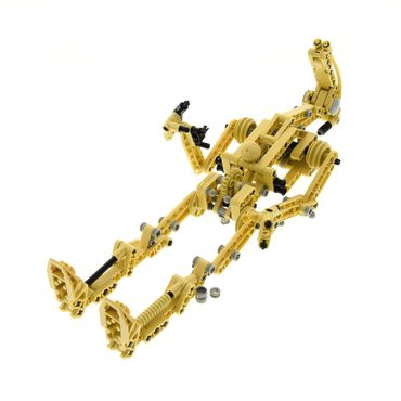 1 x Lego Technic Set für Modell Star Wars Episode 1 8001 Battle Droid beige incomplete unvollständig