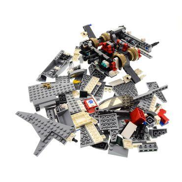 1 x Lego System Set Modell für Star Wars Episode 3 Emperor Palpatine's Shuttle 8096 Raumschiff grau incomplete unvollständig