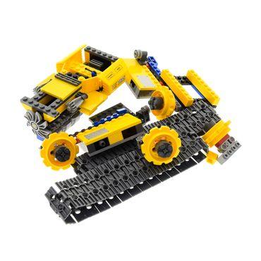 1 x Lego brick Technic Model Town City Construction 7685 Dozer ( model incomplete )