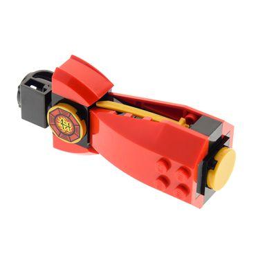 1 x Lego brick red handle holder Airjitzu Kai Flyer 70739