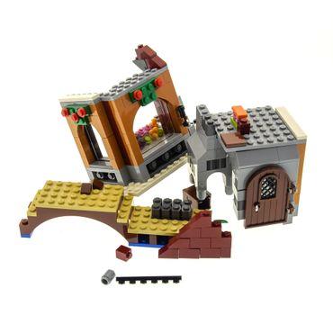 1 x Lego System Set Modell 10216 Holiday & Event Christmas Winter Dorf Bäckerei unvollständig