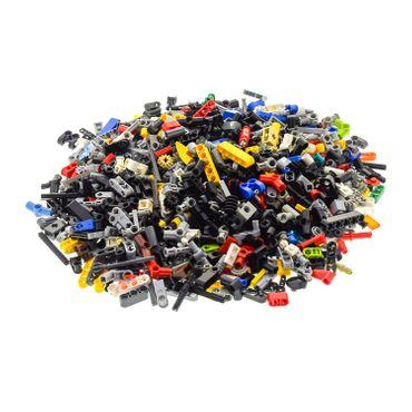 0,5 KG LEGO TECHNIC Technik bunt gemischt z.B. Pin Stecker Gewinde Kreuz Stange Achse Kreuzloch Verbinder Zahnrad kg Steine zufällig gemischt Kiloware