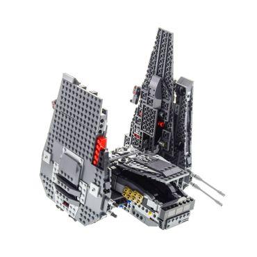 1 x Lego brick Set Model Star Wars Episode 7 75104 Kylo Ren's Command Shuttle ( model incomplete )