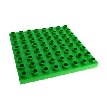 1 x Lego Duplo Bau Basic Platte bright hell grün 8x8 Noppen Wiese Rasen Zoo Puppenhaus Bob der Baumeister Big Farm 5649 3596 4971 4246953 51262