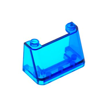 1 x Lego brick Trans Dark Blue Windscreen 2 x 4 x 2 3823