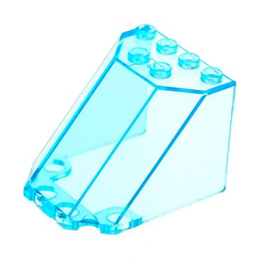 1 x Lego brick Trans-light blue Windscreen 5 x 4 x 3 30251