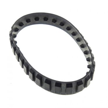 1 x Lego brick black Tread Medium (28 tread 'links') bb661