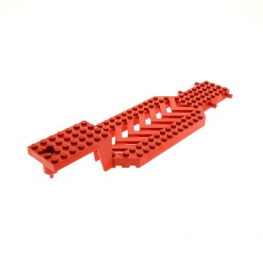 1 x Lego brick red Vehicle, Trailer Base 8 x 30 x 3 1/3 30620