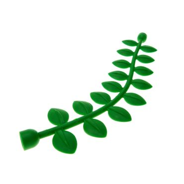 1 x Lego Duplo Green Duplo Plant Vine with Leaves 14L (Duplo Length) 4100851 89158 31064