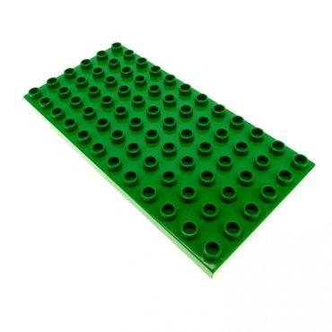1 x Lego Duplo brick green Plate 6 x 12 419628 4196 18921