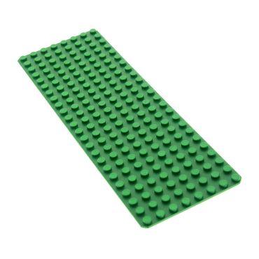 1 x Lego brick Green Baseplate 8 x 24 Set 6083 6060 1584 3497