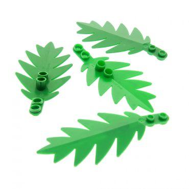 4 x lego brick Green Plant Tree Palm Leaf Small 8 x 3 6278 6282 6338 6148