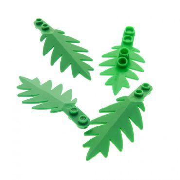 4 x Lego brick Green Plant Tree Palm Leaf Large 10 x 5 6278 6282 6338 2518