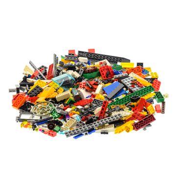 400 Teile Lego System Bau Steine Kiloware Sonderteile Farbe Größe zufällig bunt gemischt 0,60 kg z.B. Räder Platten Fenster  – Bild 2