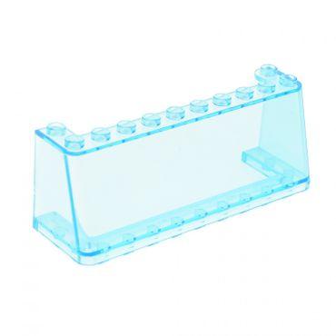 1 x Lego System Windschutzscheibe transparent hell blau 3x10x3 Van Truck Kanzel Cockpit Kuppel Fenster 5590 5581 5550 2694