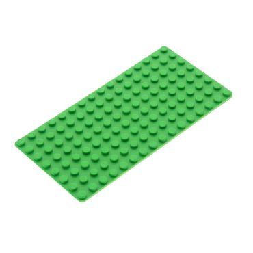 1 x Lego System Bauplatte bright hell grün flach 16x8 Platte 8x16 für Set 7579 7411 4179598 3865