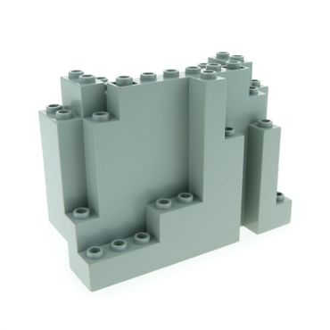 1 x Lego brick Light Gray Rock Panel Rectangular 6082