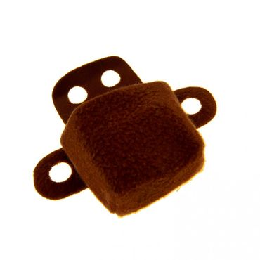 1 x Lego brick Brown Duplo Wear Cloth Backpack with Armholes duppack