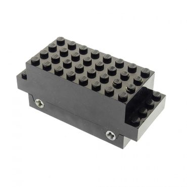 1 x Lego Electric Motor 9V schwarz 4 x 10 x 3 1/3 Eisenbahn Zug Lok Train Auto Fahrzeug Motor geprüft Set 624 bb129