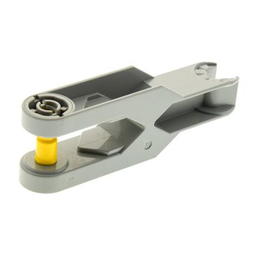 1 x Lego brick Light gray Duplo Toolo Arm 2 x 6 with Triangular Set Screw and Clip Ends 6275c01