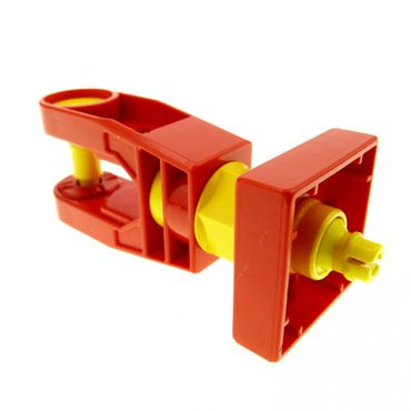 1 x Lego brick red Duplo Toolo Arm Turning with Set Screw End 6662c01