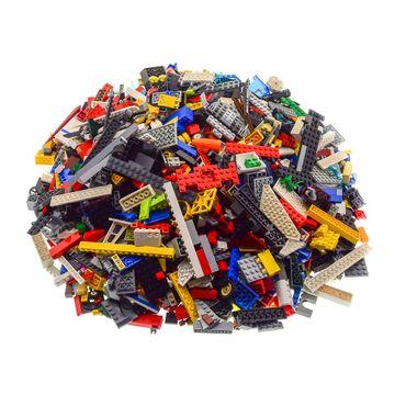 4 Kg Lego System Steine ca. 2800 Teile Kiloware bunt gemischt z.B. Räder Platten Fenster etc. – Bild 2