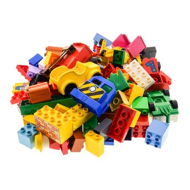 1 Kg Lego brick  Duplo Stones Basic Special Stones Kiloware (window animals Car figures can also be included ) mixed randomly – Bild 4