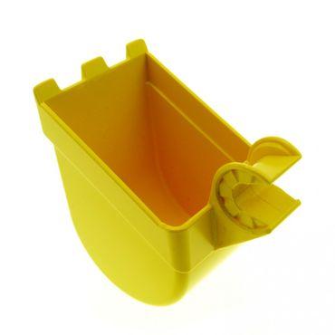 1 x Lego Toolo Duplo Bagger Schaufel gelb Stein Baustelle 16310